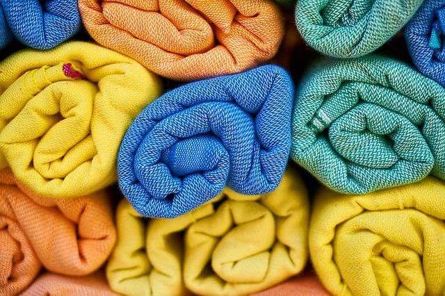 barevné ručníky