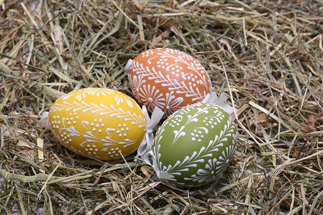 malované vejce