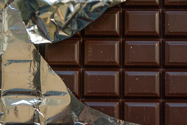 tabule čokolády