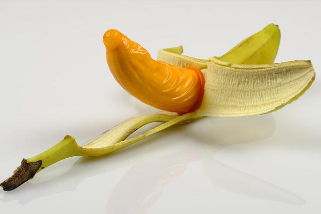 pánská ochrana na banánu